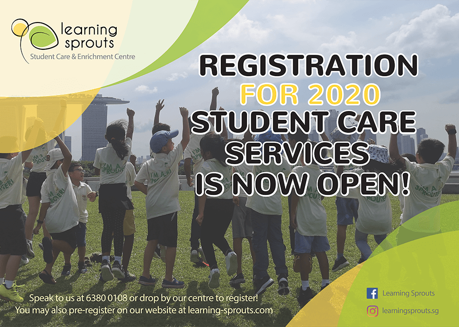 Registration for 2020 Student Care Services Open